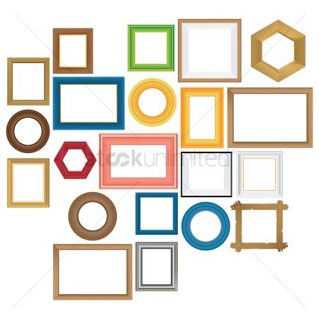 Borders : Collection of frames