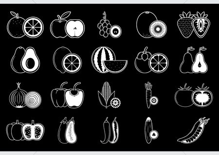 Slice : Collection of fruits and vegetables