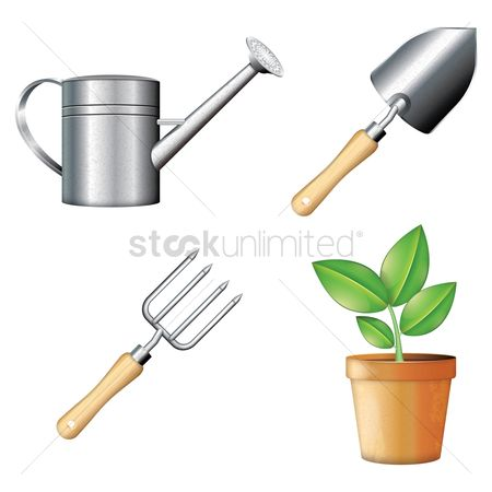Stems : Collection of gardening icons