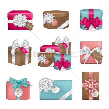 Wish : Collection of gift boxes