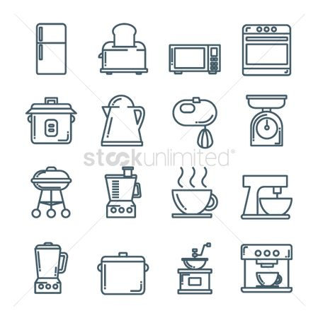 Households : Collection of household appliances