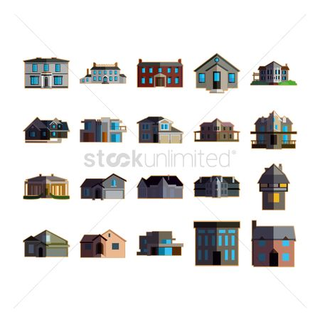 Architectures : Collection of houses