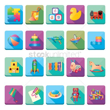 Kids : Collection of kids toy
