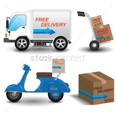 Lorries : Collection of logistic and services