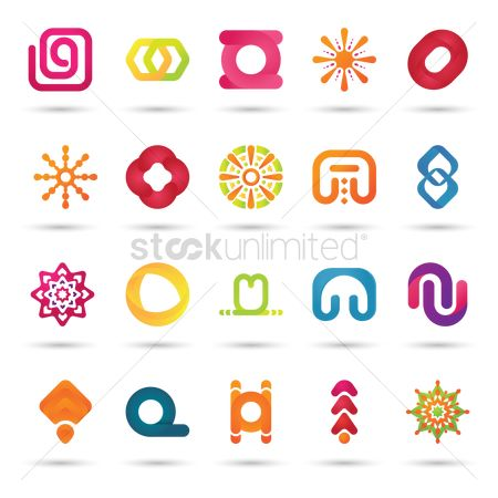 Logo : Collection of logo elements