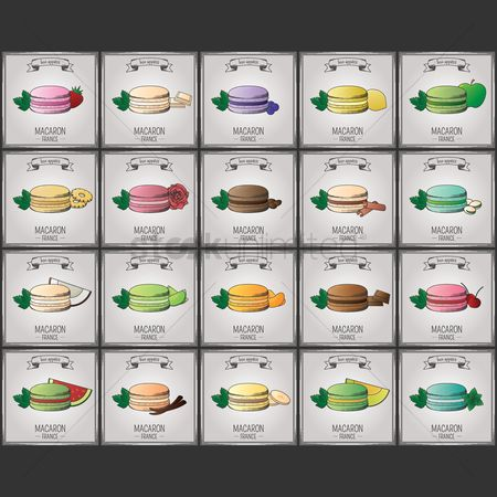 Bananas : Collection of macaron wallpapers