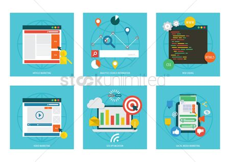 Technology : Collection of media marketing