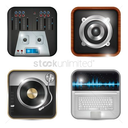 Dj : Collection of musical icons