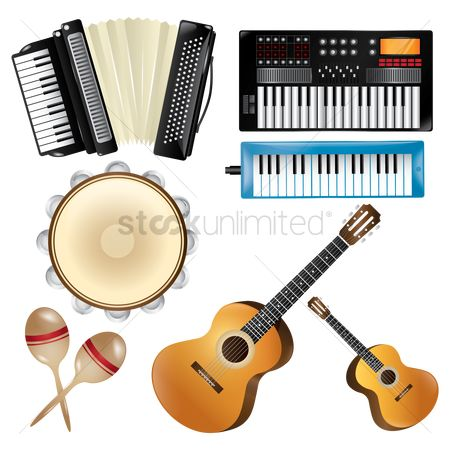 Boxes : Collection of musical instruments