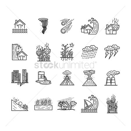 Chimneys : Collection of natural disaster concepts