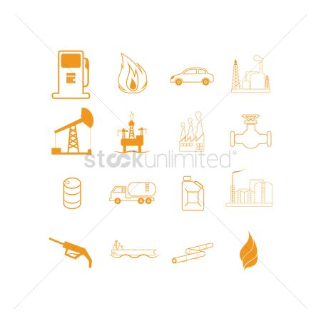 Petroleum : Collection of oil and gas related objects