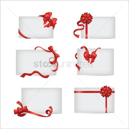 Ribbon : Collection of paper with a decorated ribbon