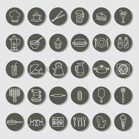 Beer : Collection of restaurant icons