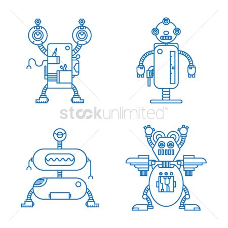 Mechanicals : Collection of robots