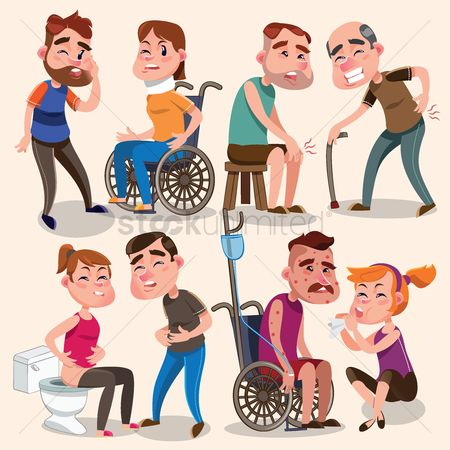 Wheelchair : Collection of sickness and injury