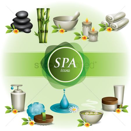 Zen : Collection of spa icons