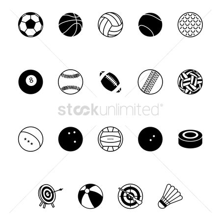 Recreation : Collection of sports equipment