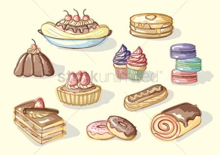 Confections : Collection of sweet food