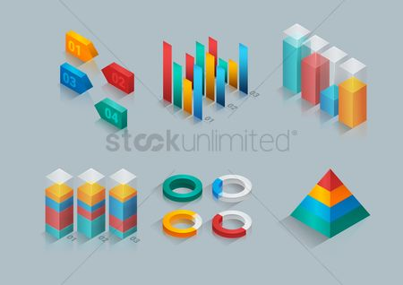 Dimensional : Collection of three dimensional graphs and charts