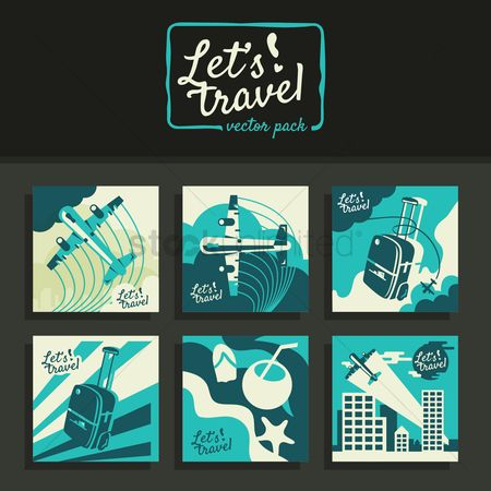 Aeroplanes : Collection of travel concept designs