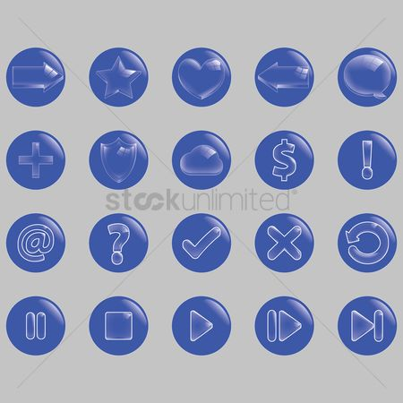 Check mark : Collection of user interface icons