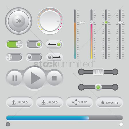 Volume : Collection of user interface icons