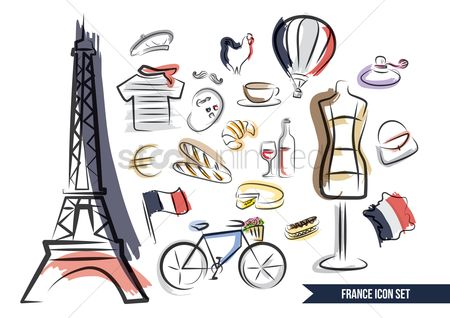 Wheel : Collections of french items