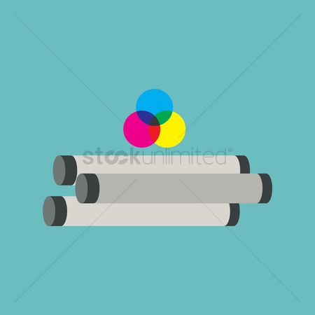 Free cmyk stock vectors stockunlimited 1426869 cmyk color chart and blueprint malvernweather Image collections
