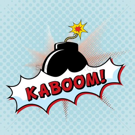 Pop : Comic bubble kaboom