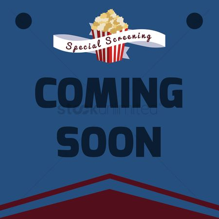 Cinema : Coming soon poster