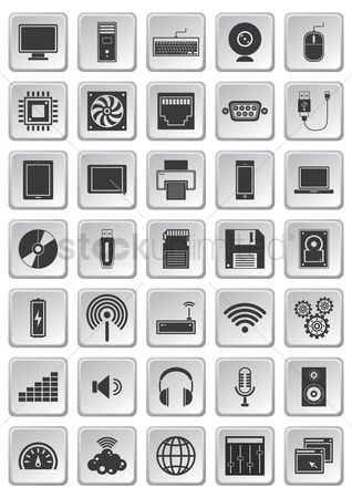 Volume : Computer icon set