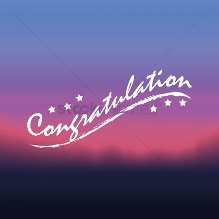 Compliment : Congratulations greeting