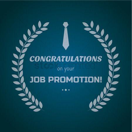 Free Congratulations Promotion Stock Vectors StockUnlimited