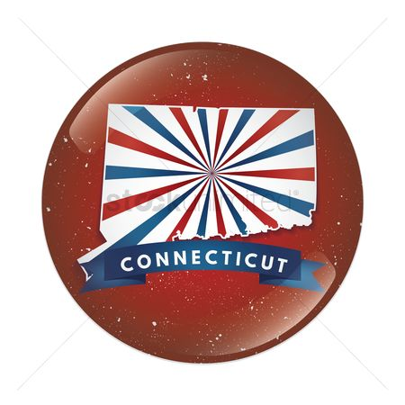 Connecticut : Connecticut map button