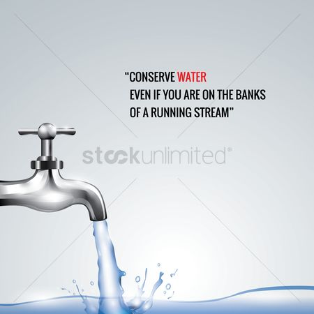 Fresh : Conserve water