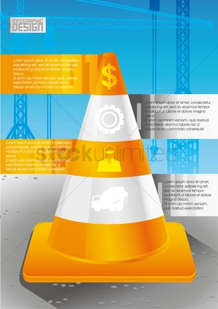 Cogwheels : Construction infographic