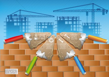 Brick : Construction infographics