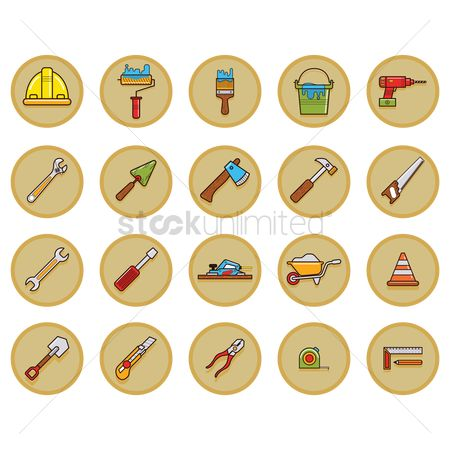Cutters : Construction tool collection