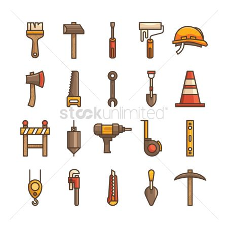 Screwdrivers : Construction tool icons