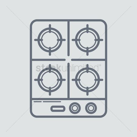 Gases : Cooking stove