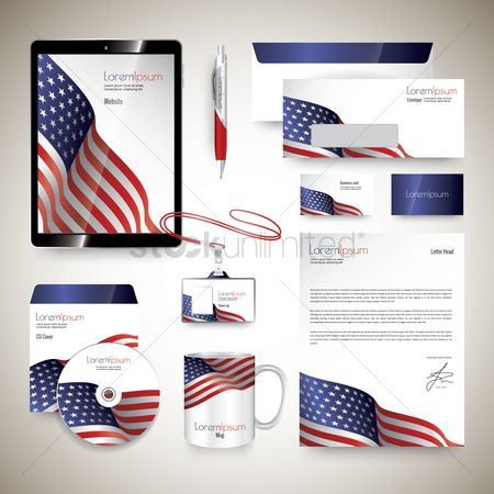 Flag : Corporate identity elements