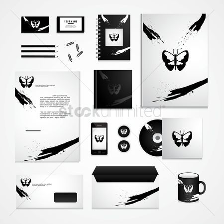 Pins : Corporate identity elements