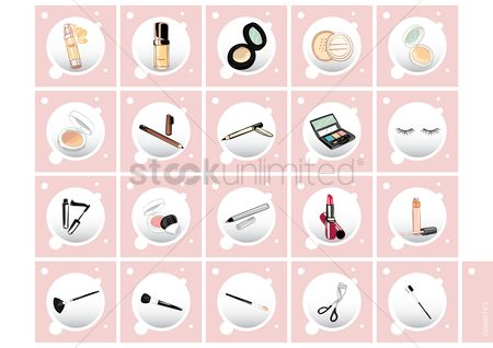 Brushes : Cosmetic product collection
