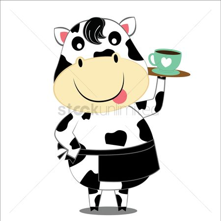 Servings : Cow serving tea