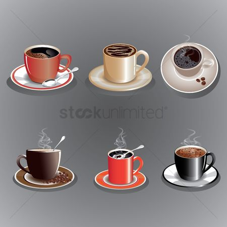 Saucer : Cup of coffee collection