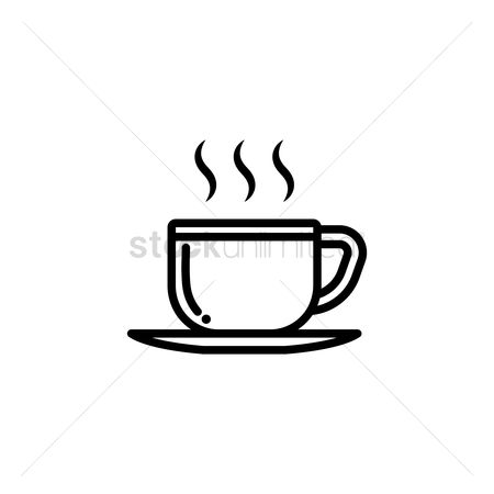 Aroma : Cup of hot coffee