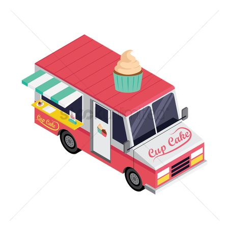 Confection : Cupcake truck