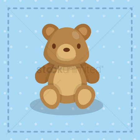 Teddy bear : Cute teddy bear