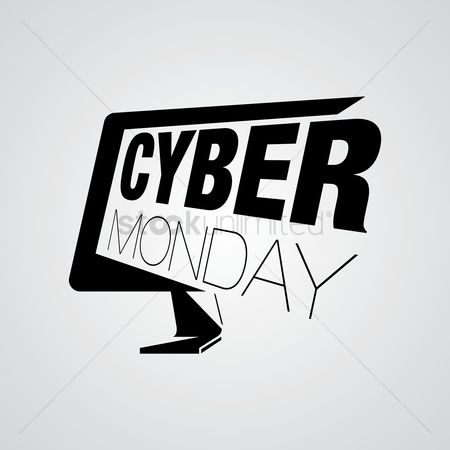 Monday : Cyber monday design element