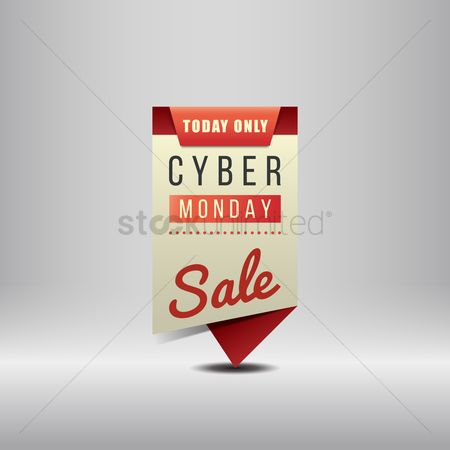 Retails : Cyber monday sale banner